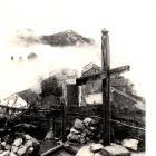Croix aujourd'hui disparue. Elle était placée au sommet de la Teppa.