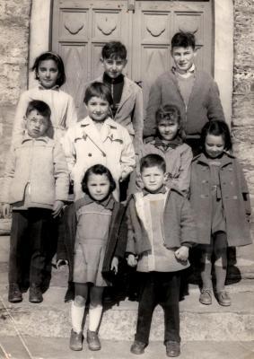 Classe à Altiani en 1958.