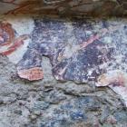Détails de la fresque, en 2010.
