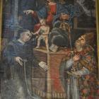 La vierge du scapulaire, Sant'Anto et San Nicolau par G. Grandi.