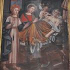 La mort de San Ghjeseppe, Jésus et la Vierge par G. Grandi.