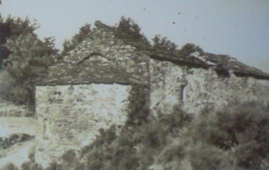 Du côté de l'abside ( 1951 ).