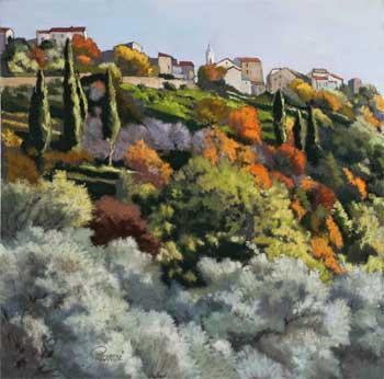 Altiani peint dans le style provençal.