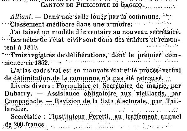 1913 rapport cg