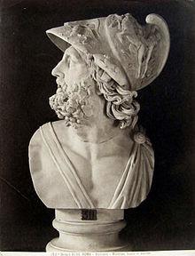 220px brogi giacomo 1822 1881 n 4140 roma vaticano menelao busto in marmo